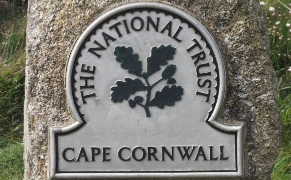National Trust sign at Cape
