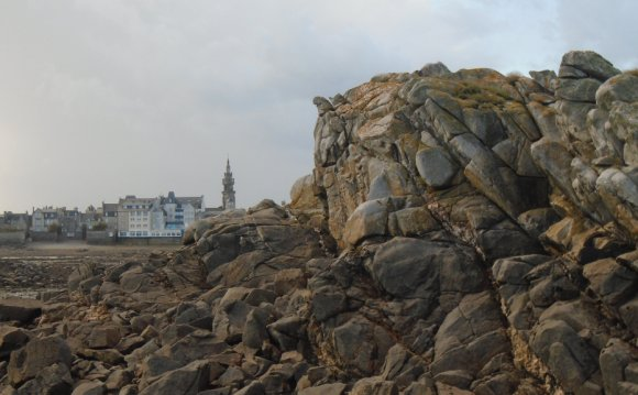 A View of Roscoff From the Bay