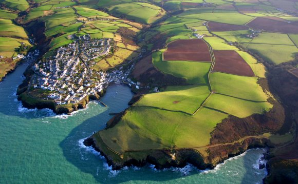 Port Isaac from above | by
