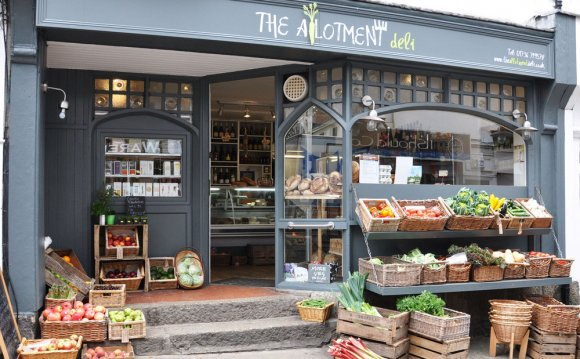 The allotment deli shop food