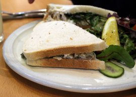 Cornish crab sandwich £8.95