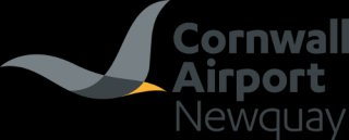 Cornwall Airport Newquay logo design