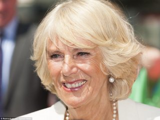 It really is Glamilla! The Duchess of Cornwall showcases her extremely fresh skin and glamorous brand-new bob haircut in London yesterday