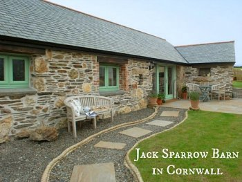 Jack Sparrow Barn Stone Cottage Cornwall UHS