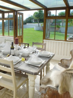 deluxe self-catering house or apartment with pool north cornwall