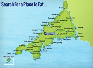 Search for a spot to consume in Cornwall