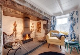 The Fisherman´s Knot, luxury self-catering cottage Cadgwith Cove, Cornwall