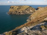 Tintagel Cornwall Map