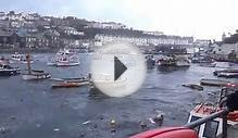 6 Fishing Boats Sink in Huge Storm at Porthleven, Cornwall