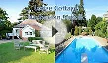 Holiday cottage in suffolk dog friendly with pool | Lodge