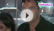 Jason Isaacs leaving W Hotel in Hollywood!