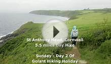 St Anthony Head, Southwest Coastal Path, SWCP, Cornwall