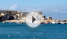 St Ives Video Cornwall UK Seaside Holiday Boats Fishing Beach